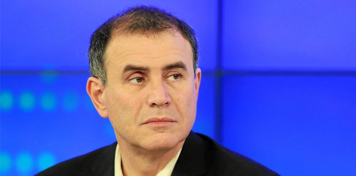 Nouriel Roubini cries censorship, debate video hidden from the world