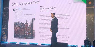 Alex Fauvel reveals Pixel's VOAM identity system at CoinGeek Seoul