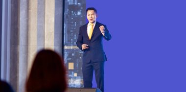 Jimmy Nguyen inspires crowd at CoinGeek Seoul conference opening