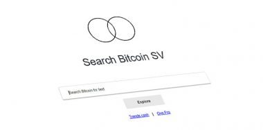 Oyo.Cash makes it easy to search Bitcoin SV ledger
