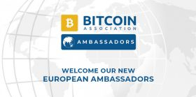 Bitcoin Association announces European Ambassadors to enhance growth of Bitcoin SV