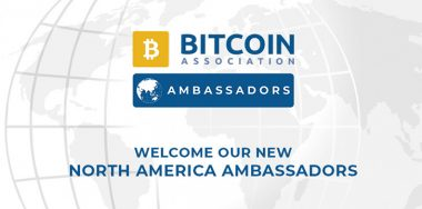 Bitcoin Association announces: North America Ambassadors to enhance growth of Bitcoin SV