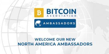 Bitcoin Association announces: North America Ambassadors to enhance growth of Bitcoin SV