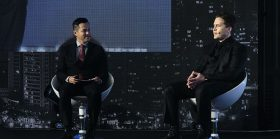 克雷格·怀特(Craig Wright)和吉米·阮(Jimmy Nguyen)前往北京参加T-Edge会议