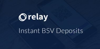 Relay Instant offers zero-confirmation Bitcoin deposits to exchanges