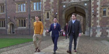 从克雷格和吉米访问剑桥中,学生们对Metanet了解到了什么