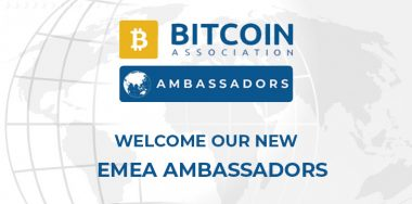 Bitcoin Association announces EMEA Ambassadors to enhance growth of Bitcoin SV