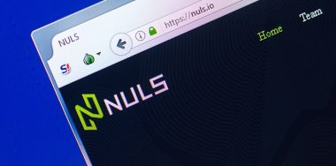 Blockchain platform NULS loses $480K worth of crypto in hack