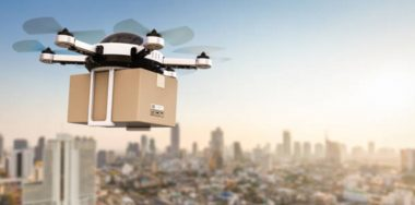 IBM patent takes on package drone theft with blockchain's help