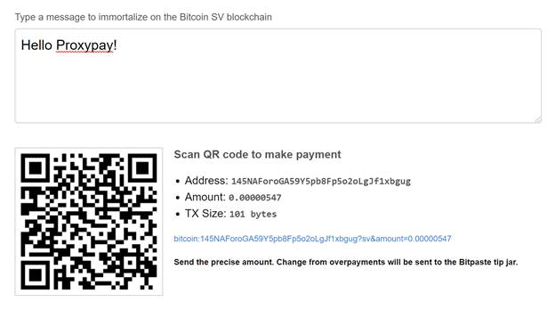 accept-bitcoin-sv-from-any-wallet-with-proxypay1