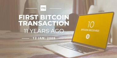 Bitcoin's 1st transaction happened 11 years ago today