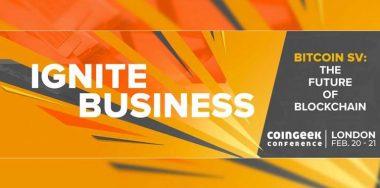 揭晓CoinGeek伦敦大会的豪华嘉宾阵容 ——全球著名商业和技术领袖汇聚一堂