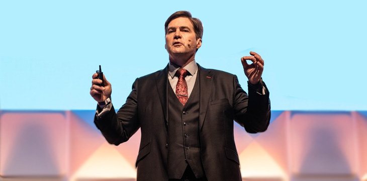 Craig Wright talks civil disobedience and Bitcoin