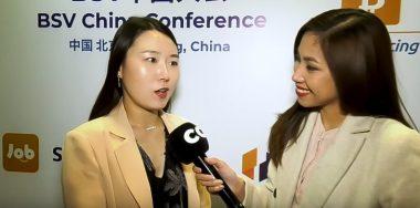 Lise Li talks Bitcoin SV's rapid growth in China