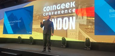 Craig Wright在CoinGeek伦敦大会现场讲解Metanet