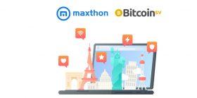 互联网浏览器Maxthon运用比特币SV力量