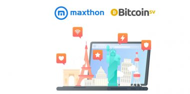 Internet browser Maxthon capitalizes on Bitcoin SV power