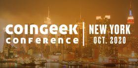 CoinGeek纽约大会将于2020年10月拉开帷幕