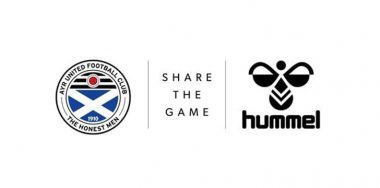 Ayr United FC unveils Hummel as new kit supplier