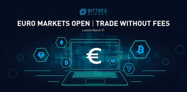 Bittrex Global launches Euro-digital currency trading with zero fees
