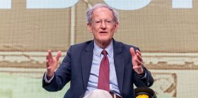 Internet security and the scandal of money: A summary of George Gilder's keynote