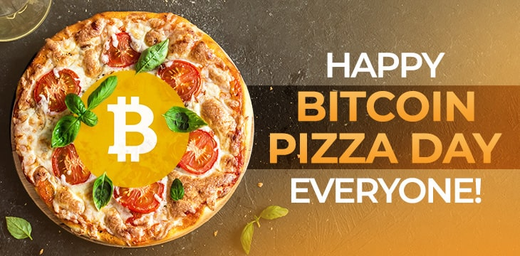 Happy Bitcoin Pizza Day! But don't think about the fees