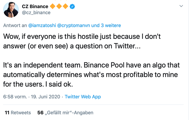 bitcoin-sv-haunts-binance-ceo-and-causes-need-for-explanation