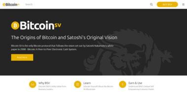 Bitcoin Association launches BitcoinSV.com website