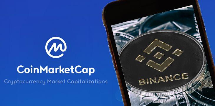 CoinMarketCap shills Binance yet again