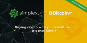 Leading payments processor Simplex adds support for Bitcoin SV across its global network