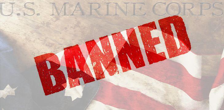 US Marine Corps banned from block reward mining