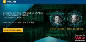 Why build on Bitcoin? Jimmy Nguyen, Steve Shadders take WeAreDevelopers virtual stage