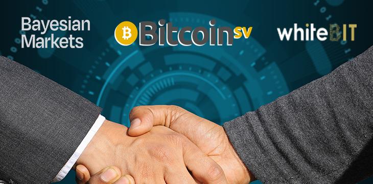 WhiteBIT交易所和Bayesian Markets合作提升Bitcoin SV流动性