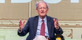 George Gilder talks Bitcoin and 'Who is Satoshi Nakamoto' on London Real TV