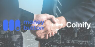 Money Button CEO:与Coinify的合作支持了信用卡功能,使新用户上手更加容易