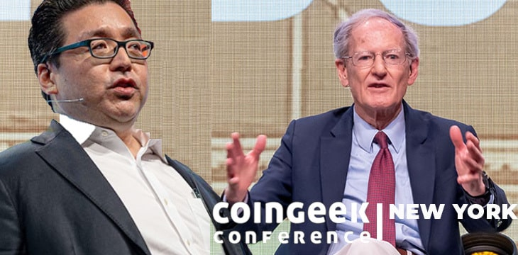 Wall Street veteran Thomas Lee, economist George Gilder headline CoinGeek Live