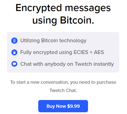 Twetch Chat – Encrypted AF