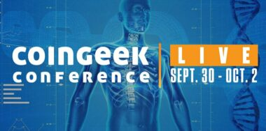 Blockchain-based Healthcare Solutions to feature at CoinGeek Live Conference (September 30 – October 2)