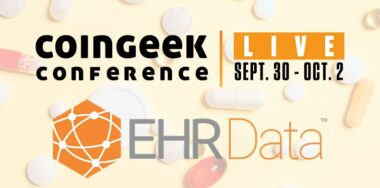 EHR Data CoinGeek Live 2020 sponsor spotlight