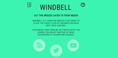 Introducing Windbell: Let the breeze cater to your needs