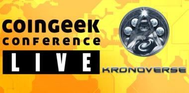 Kronoverse CoinGeek Live 2020 sponsor spotlight