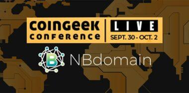 NBdomain CoinGeek Live 2020 sponsor spotlight