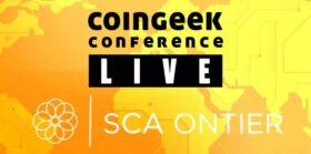 SCA Ontier CoinGeek Live 2020 sponsor spotlight