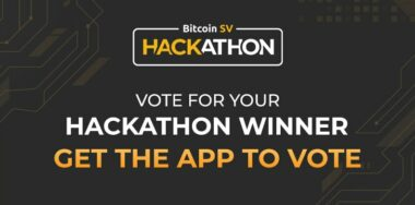 Vote for your 3rd Bitcoin SV Hackathon finalist via CoinGeek Conference app