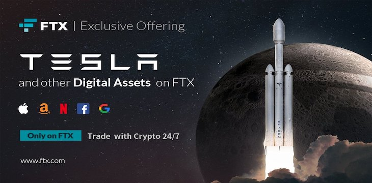 FTX launches tokenized equity trading