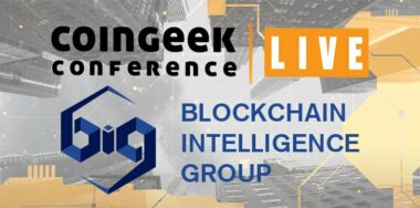 聚焦Blockchain Intelligence Group CoinGeek Live 2020赞助商