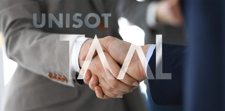 UNISOT has partnered with TAAL to secure Enterprise level Blockchain Transaction Processing