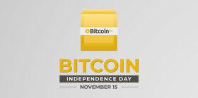 比特币独立日快乐!