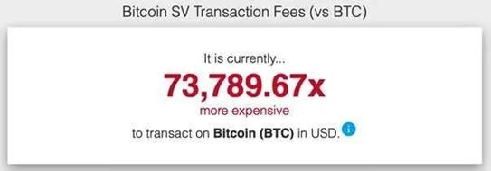 BSV Transaction Fees