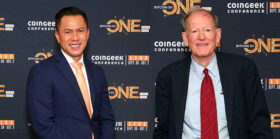 CoinGeek Backstage: Jimmy Nguyen and George Gilder